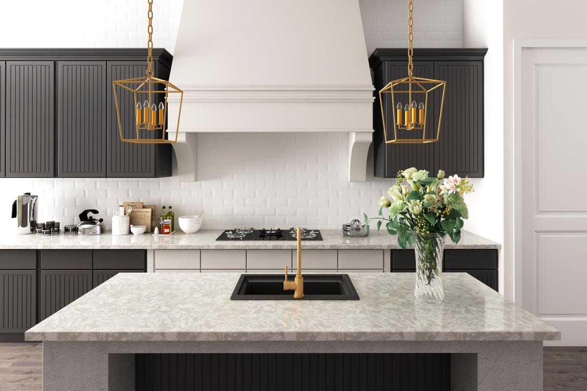 V5024 Viscon White Kitchen Tops